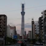 横浜・東京(6) 両国〜浅草 スカイツリー