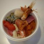 函館・青森(19) 青森 市場 海鮮丼 のっけ丼 青森魚菜センター