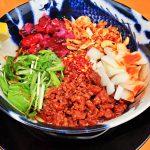 福島 汁なし担々麺 スパイス担担麺専門店 香辛薬麺(こうしんやくめん)