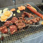 虎キチ in 北海道 (19)BBQ 酪農体験 むらかみ牧場