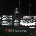 聖地 阪神甲子園球場 阪神タイガース2010(09/25 広島戦)